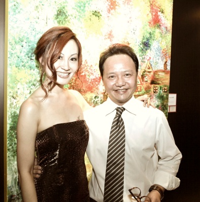 Addy and Book Publisher Chin Kar
