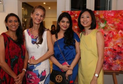 Shahiran, Mariama, Nishi B, Amanda
