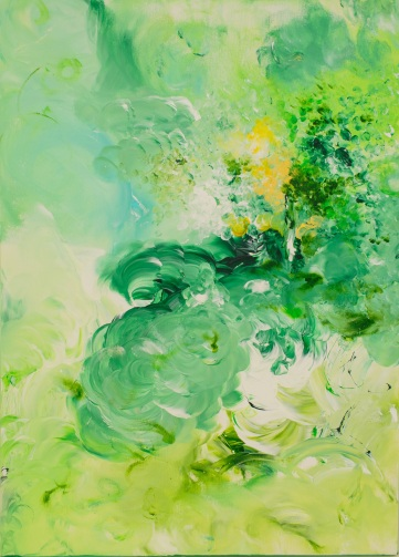 Adeline Yeo_Blossom, Scented Love_50cm x 70cm
